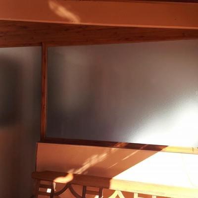 Cerramiento color madera
