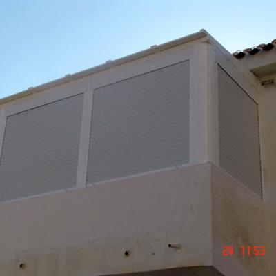 Aluminios aven peligros - Cerramiento de balcon ...
