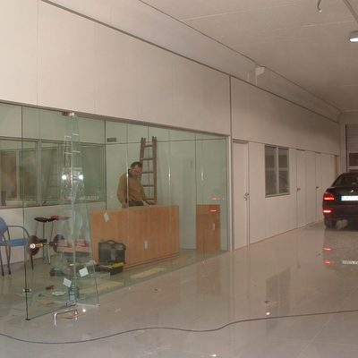 Cerramiento de vidrio