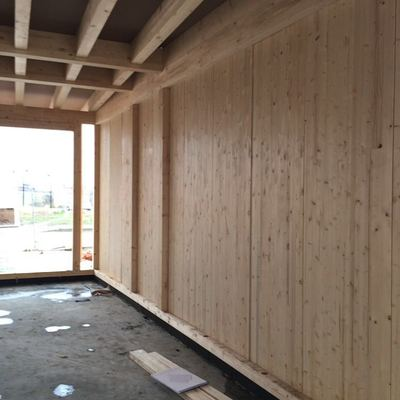 Cerramiento interior de madera TimberOnLive