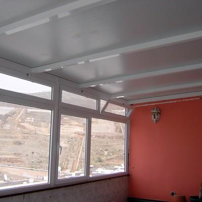 cerramiento terraza aluminio terminado