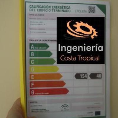 Certificado Energético + Anexos + Registro ante Junta de Andalucía + Etiqueta Energética
