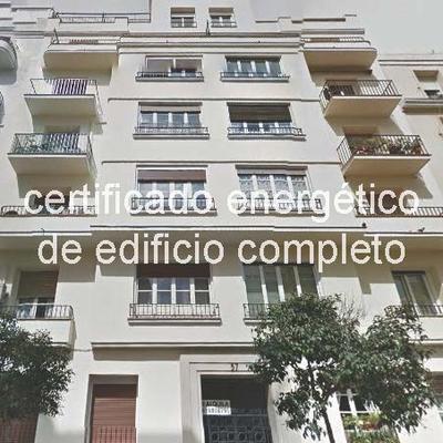 Certificado energético edificio completo