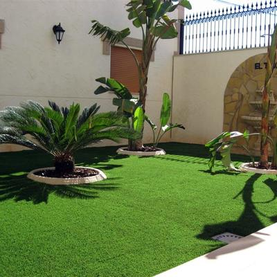 Ideas y fotos de terraza y jard n en borriol castell n - Cesped artificial castellon ...
