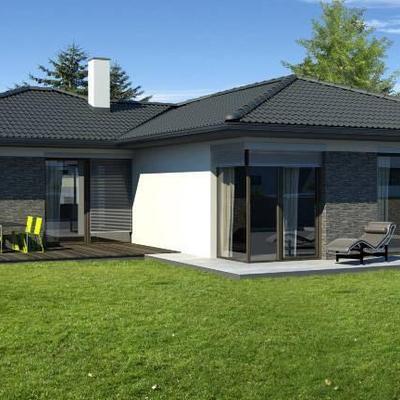 Casas prefabricadas steel home espa a alcorc n for Modelos de chalets de una planta