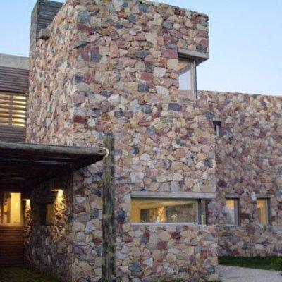 Chapado de piedra rustica