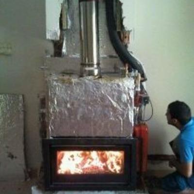 chimenea calefactora