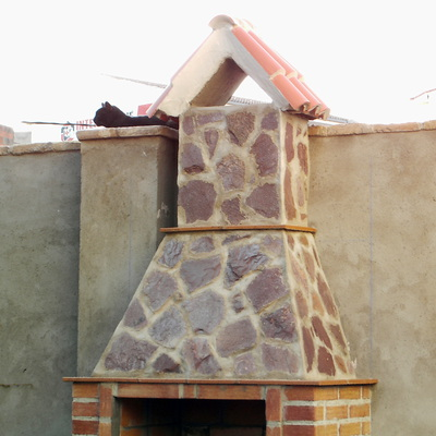 Presupuesto para construir una chimenea de obra habitissimo for Chimeneas de obra