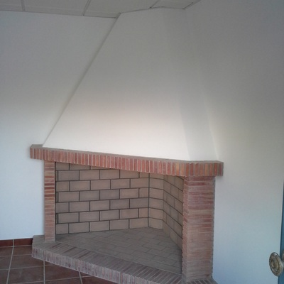 CHIMENEA DE OBRA