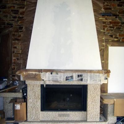 chimenea de sala
