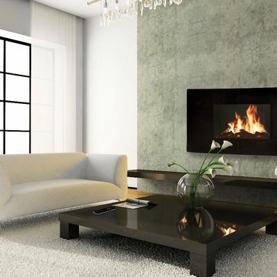 Ideas y fotos de chimenea el ctrica para inspirarte habitissimo - Modelos de chimeneas electricas ...