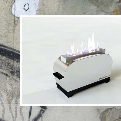 Chimeneas de Bioetanol de Diseño Toaster