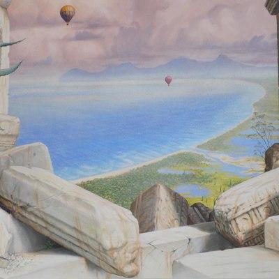 Paredes y techo, Rey del Mediterrany 02