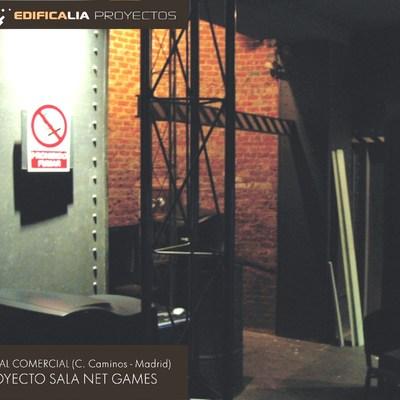 Local Cybersala. Madrid. Proyecto Decoración/Reforma (2001)