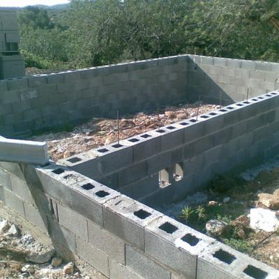 cimentacion casa de madera