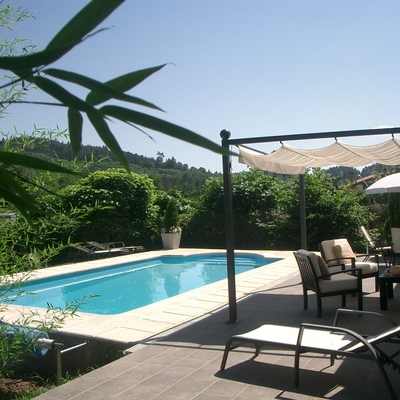 La piscina de Jose Mari y Nekene