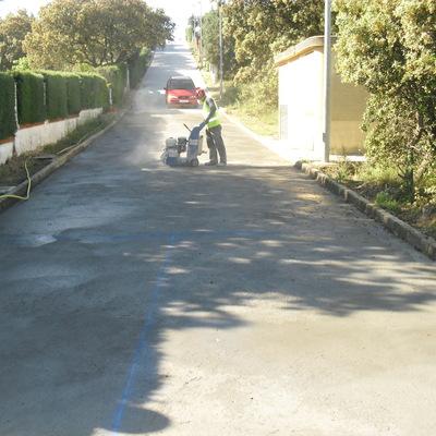 pavimentacion  calle  las labranzas /el  casar  de  escalona