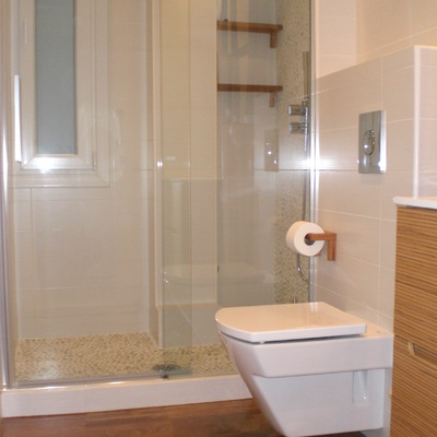 un baño reformado