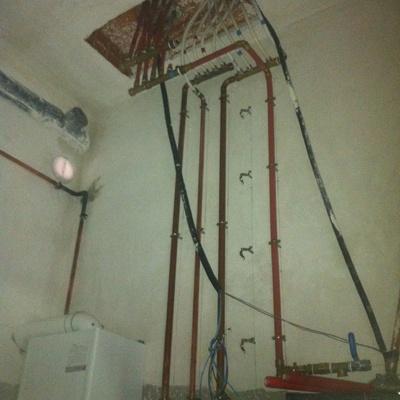 Circuitos calefacción agua sanitaria
