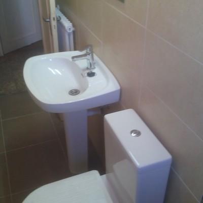 Rehabilitación de cuarto baño