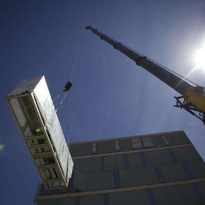 Instalación de clima para edificio de oficinas