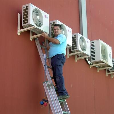 Climatización de oficinas.