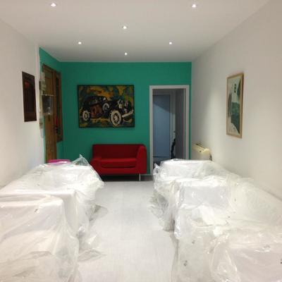 Colocación de Parquet y Pintura en Clínica dental (Barcelona)