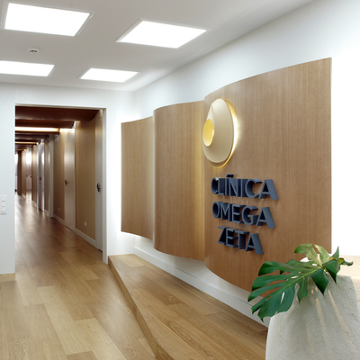 Clinica omega zeta by molins interiors