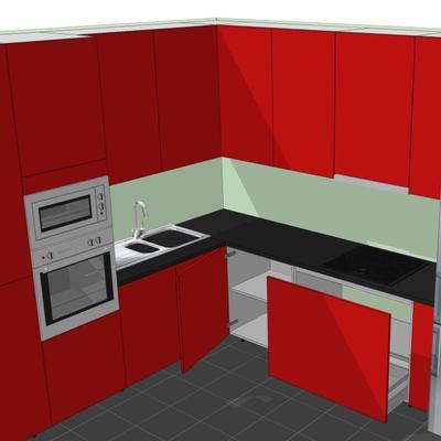 diseño 3D de cocinas