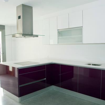 Cocina de la promoción de 2 exclusivas viviendas