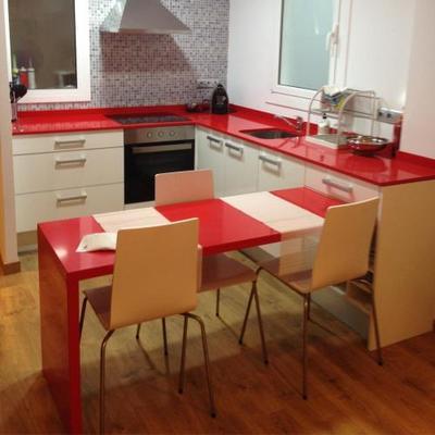 Cocina mobiliario y elementos