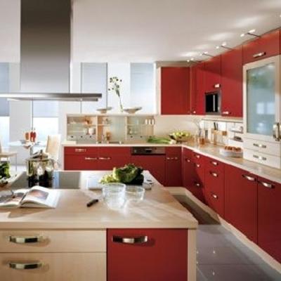 cocina reformada de diseño en Barcelona