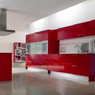 Cocina Roja brillo