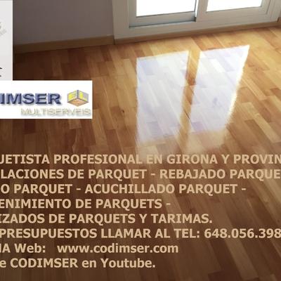 PARQUET GIRONA, www.codimser.com