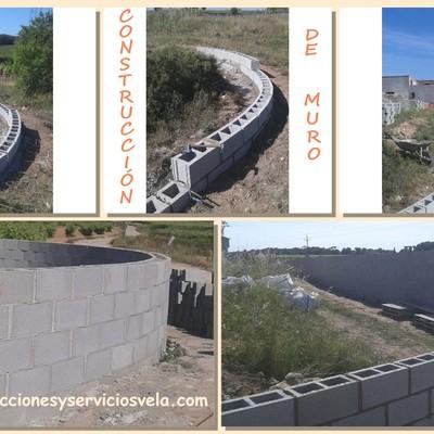 CONSTRUCCIÓN DE MURO EN MASIA