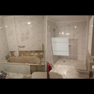 sustitución de bañera por ducha