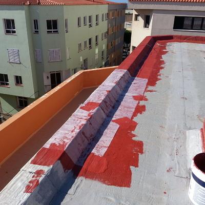 Colocación de fibra en pretil