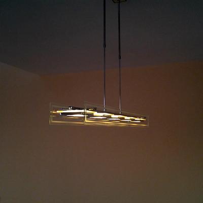 colocacion de lamparas de diseño led