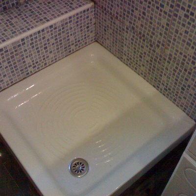 Colocacion de plato ducha