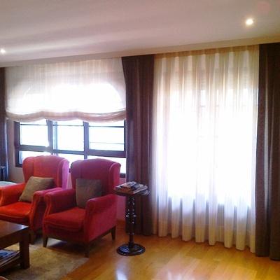 Renovación de salones: Tapicería, alfombra y cortinas