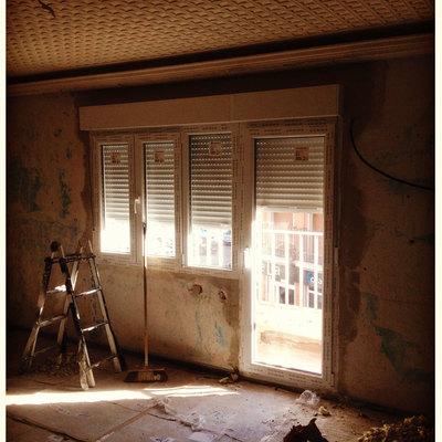 Sustitucion de ventanas de aluminio por ventanas de PVC