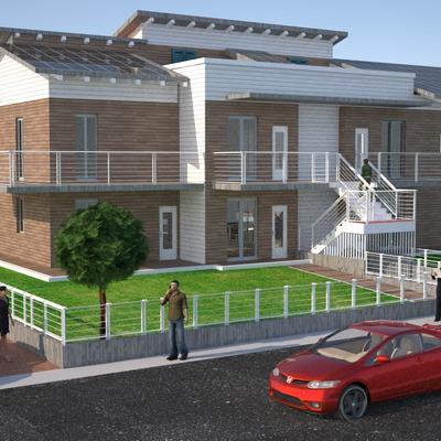 Complejo residencial de 16 vivienda