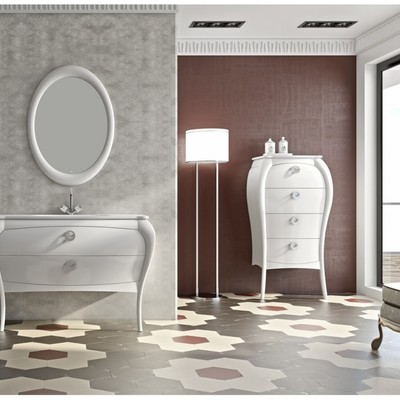 Mueble de baño vintage-moderno