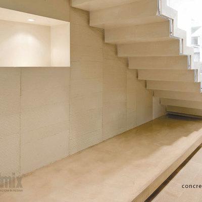 Escaleras concrete rapidmix
