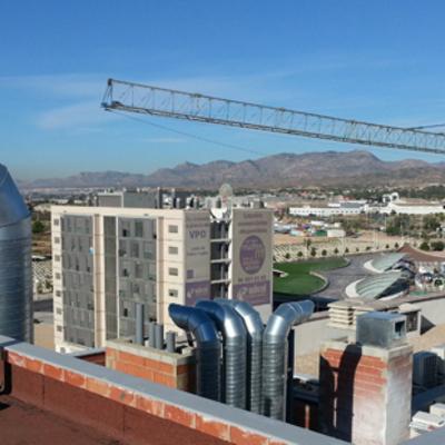 Conductos de ventilacion y chimeneas