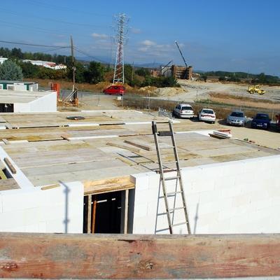 CONSTRUCCION CON BLQUE HORMIGÓN CELULAR CENTRO CULTURAL SANSOHETA, VITORIA