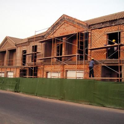 Construcción de 8 viviendas adosadas
