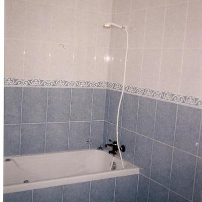 Construcción de baño
