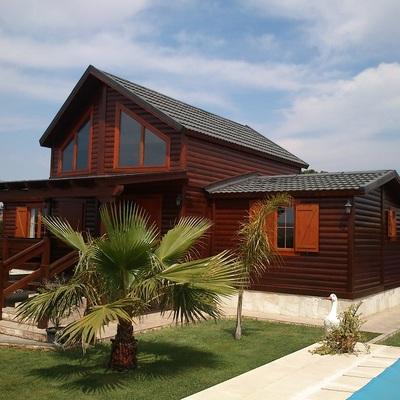 Construcción de casas prefabricadas de madera