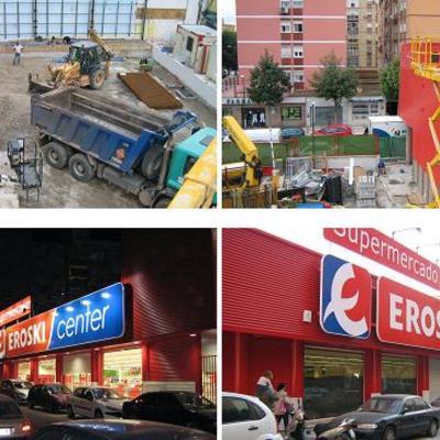 • CONSTRUCCIÓN DE DOS NAVES EN C/ REBOUL (MÁLAGA).